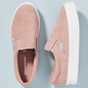 Superga Platform Slip-On Sneakers